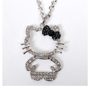 Hello kitty pendant necklace only 840 shipped aloadofball Choice Image