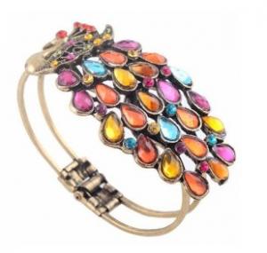 Sodial-peacock-bracelet