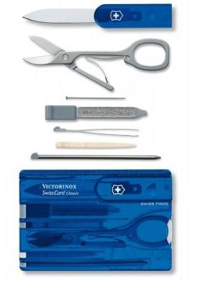 Victorinox Swisscard Translucent Tool Kit Only 14 50