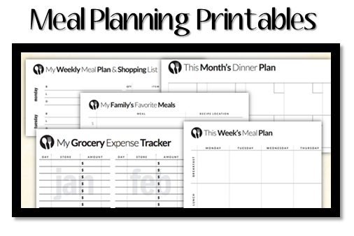 Meal Planning Resources Printable Meal Plans And More