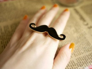 mustache-ring