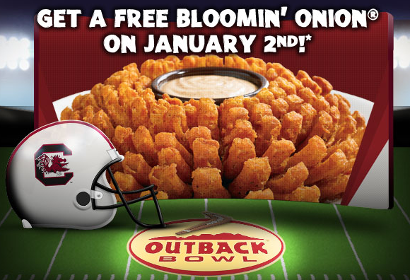 Free Blooming Onion Outback Coupon