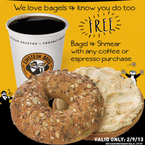 Einstein-Bagels-Deal