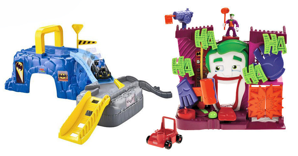 Fisher Price Batman Play Sets Only $10 (down from $27)!