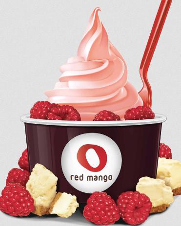 Red mango frozen yogurt coupons
