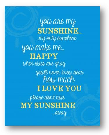 sunshine-print