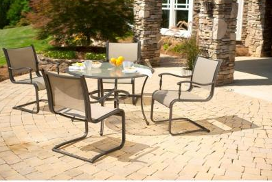Martha Stewart Living Welland 5 Piece Patio Set $299 99