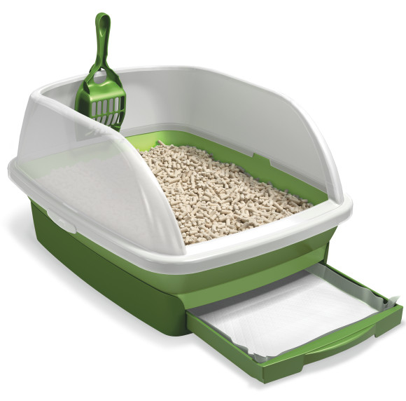 how to make wheat cat litter