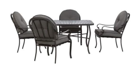 Home Decorators Collection Winsor 5-Piece Patio Dining Set