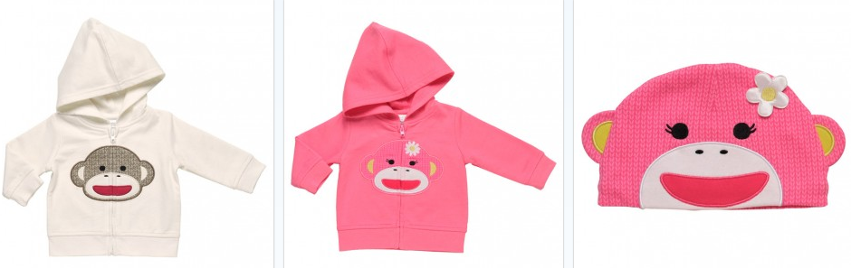 Just how crazy cute are these hoodies and hats? I'm pretty sure one of our little nieces will be getting these for her upcoming birthday, after all we need