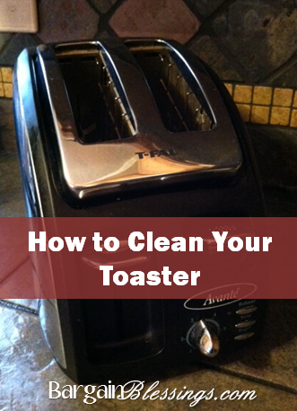 how to clean a toaster inside