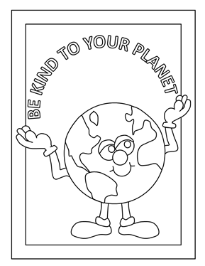 earth day coloring pages 2013 - photo#8
