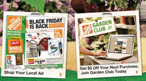 Home depot black friday garden sale inexpensive plants for Garden soil deals