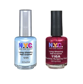 Rite Aid Monthly N.Y.C. Cosmetics +UP Reward = Nail Polish for .49 ...