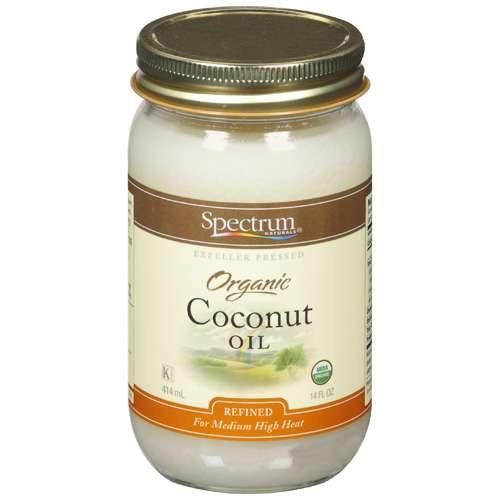 Organic coconut oil jewel