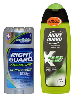 Low Prices on Right Guard Xtreme Products at Walgreens & CVS