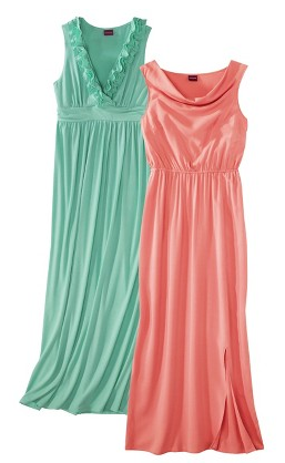Target has some really cute maxi dresses on daily deal sale today