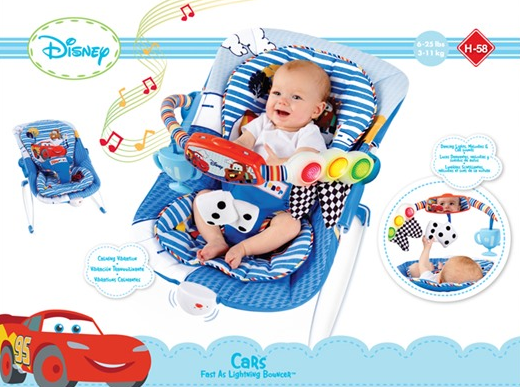 Disney Cars Fast As Lightning Baby Bouncer 24 99 Down