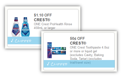 picture about Crest Printable Coupons known as 2 Contemporary Crest Printable Coupon codes + Walgreens Situation in direction of Buy