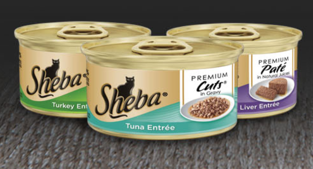 FREE Sheba Cat Food Sample...