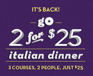 Olive Garden Printable Coupon Save 5 Off 2 Entrees 2 For 25 Promotion