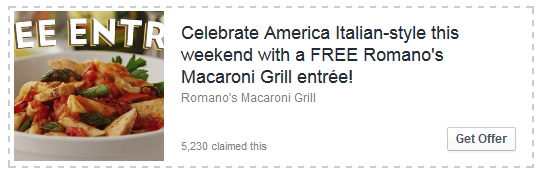 romano s macaroni grill coupon buy one get one free entrees