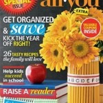 All You Magazine September 2013 Coupons!