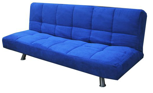 blue-futon