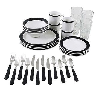 essex-dinnerware1  sc 1 st  Bargain Blessings & Walmart.com: 32 Piece Essex Dinnerware Combo Set for Only $12.99