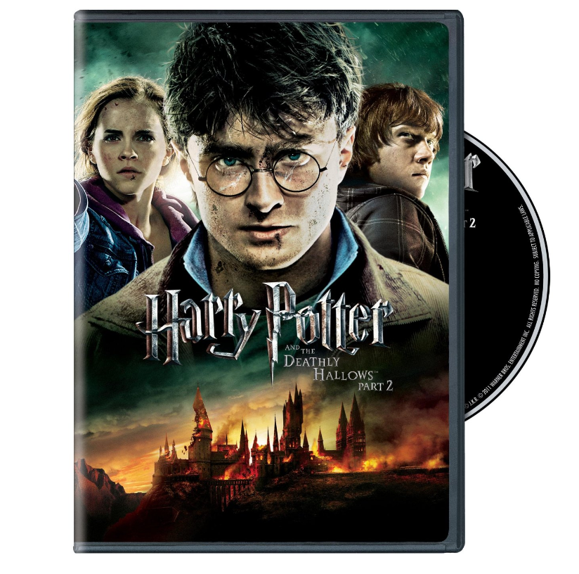 harry potter and the deathly hallows part 2 dvd just down from. Black Bedroom Furniture Sets. Home Design Ideas