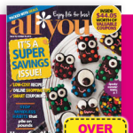 All You Magazine October 2013 Coupons!