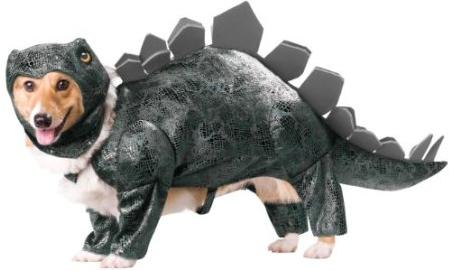 Dog Shark Costumes Dog-stegasaurus-costume