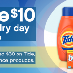 P&G Laundry Rebate: Get $10 Back When You Spend $30 on Tide, Downy or Bounce!
