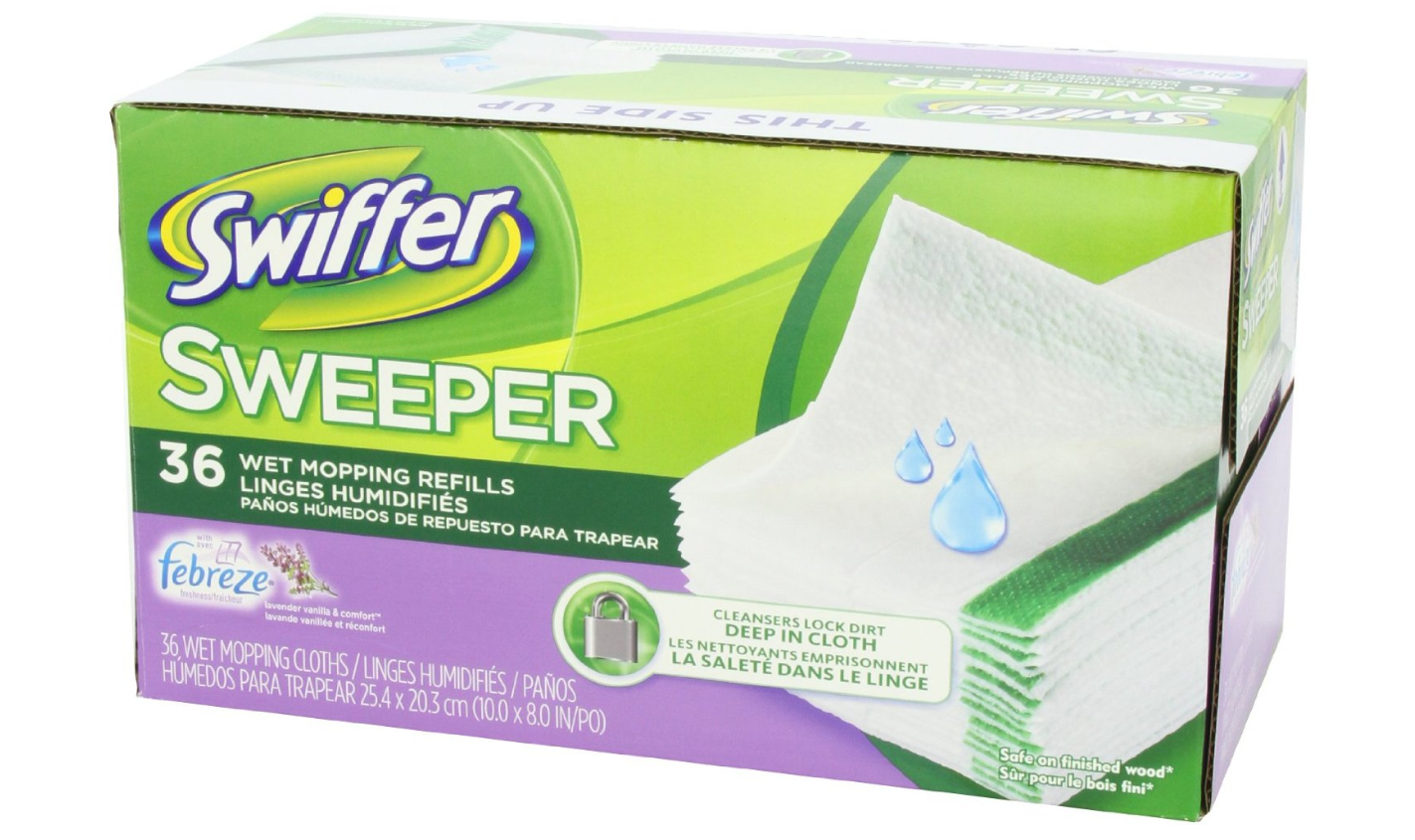 Swiffer Sweeper Wet Mopping Cloths 36-Pack Only $8.47 + FREE Shipping!