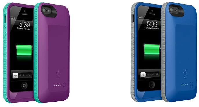 belkin iphone 5s case belkin grip power battery for iphone 5 and 5s 69 99 9925