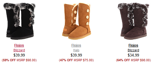 Cozy Fall Boot Sale on 6pm: Styles Starting at Only $12   FREE ...
