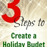 How to Create a Holiday Budget and Stick to It!