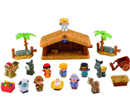 Family Christian Stores Columbus Day Deal: Little People Nativity Set Only $25.79!