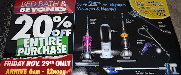 Bed Bath & Beyond Black Friday Deals for 2013: Online and In-Store!