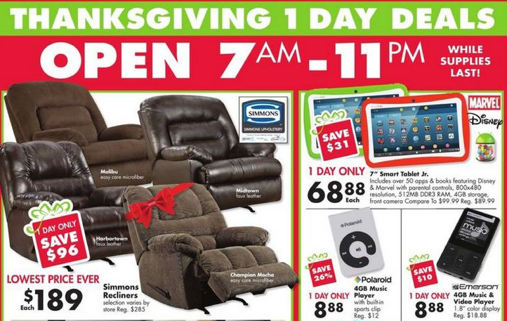 Big Lots Black Friday Deals and Ad Scan for 2013!