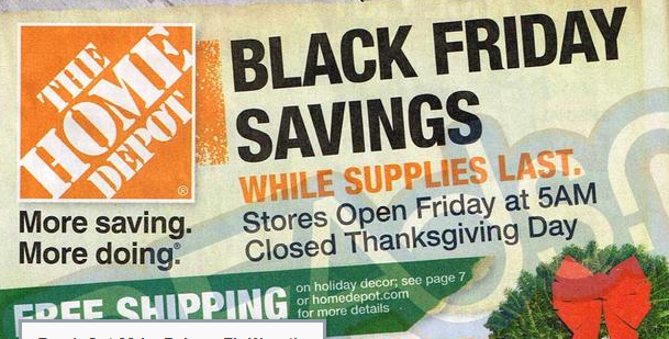 Home depot black friday deals 2013 tools appliances for Home depot christmas decorations 2013