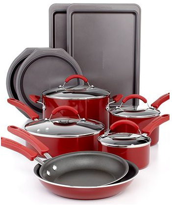 Good KitchenAid 14 Piece Nonstick Cookware Set Only $64.99 With Stacking Kohlu0027s  Promotions!