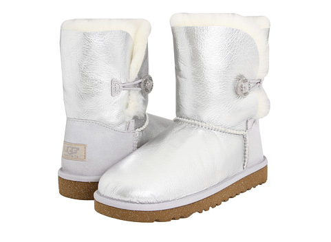 ugg bailey button metallic toddler