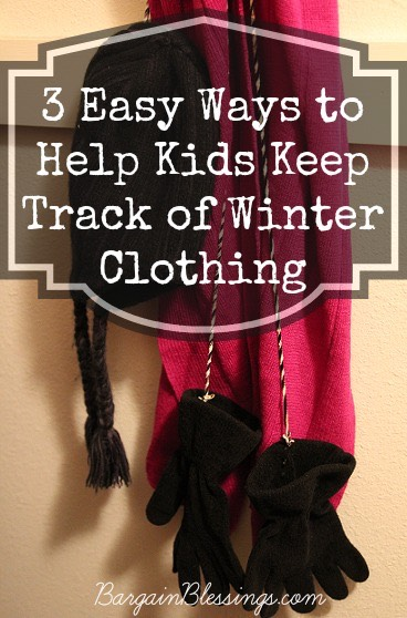 3 Easy Ways to Help Kids Keep Track of Winter Clothing