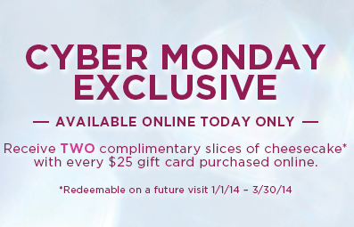 cheesecake-free-cyber-monday