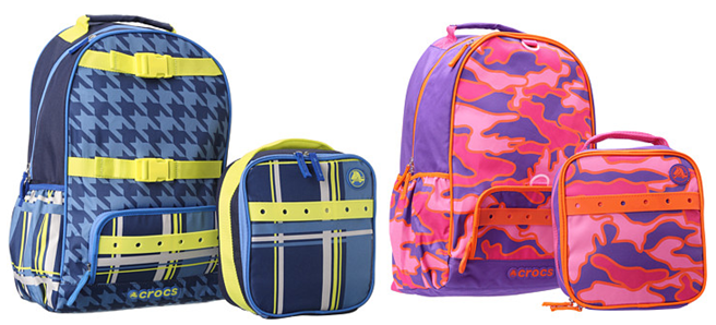 crocs-backpack-set
