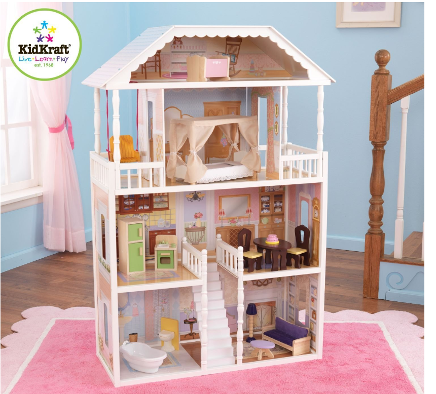 Kidkraft Savannah Dollhouse Only 79 Down From 149 99