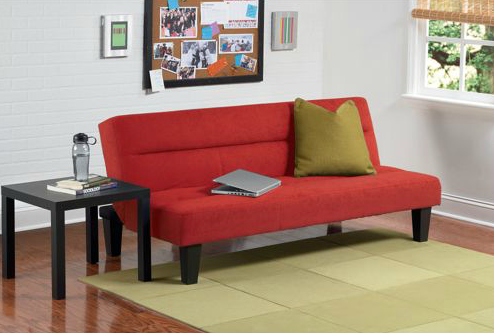 Futon sofa bed target - Walmart Has The Kebo Futon Sofa Bed On Sale For Just 99 99 Down From