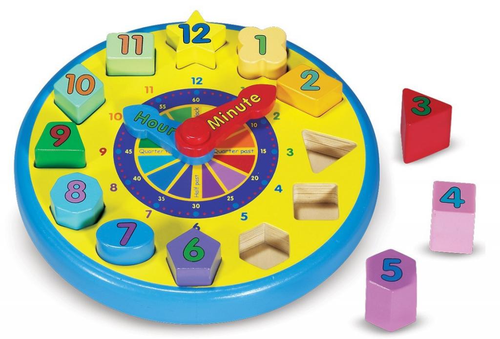 melissa-doug-clock