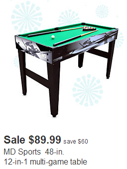 Kmart cyber monday sale is now live here are some highlights for 12 in 1 game table kmart